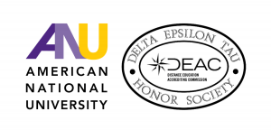 ANU is a Member of the Delta Epsilon Tau Honor Society Charter